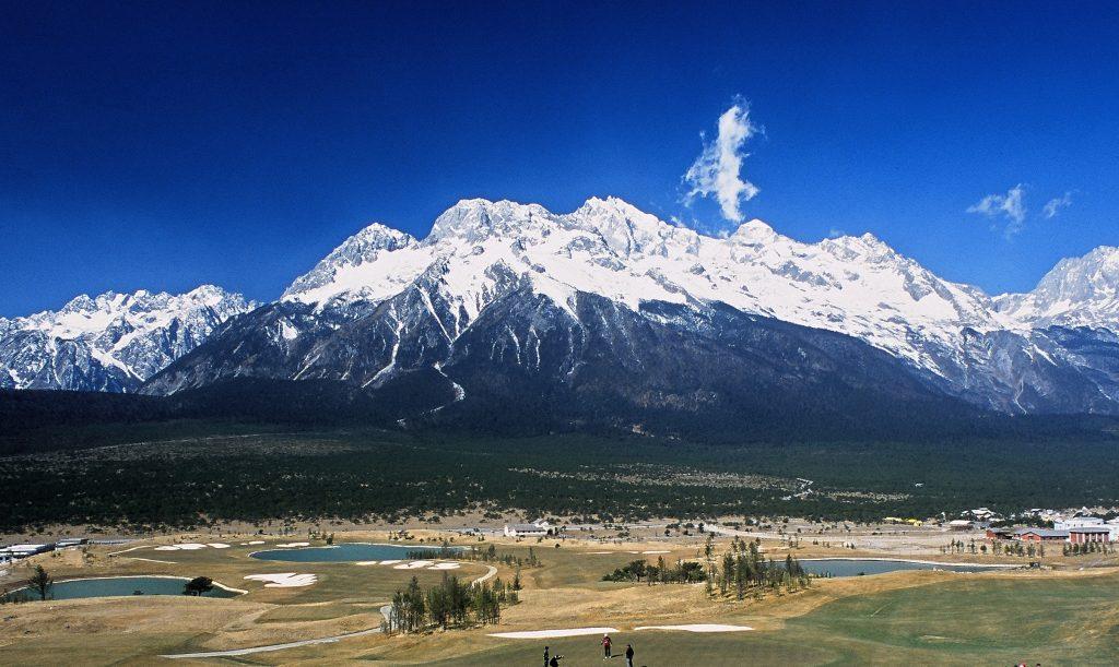 the Jade Dragon Snow Mountain